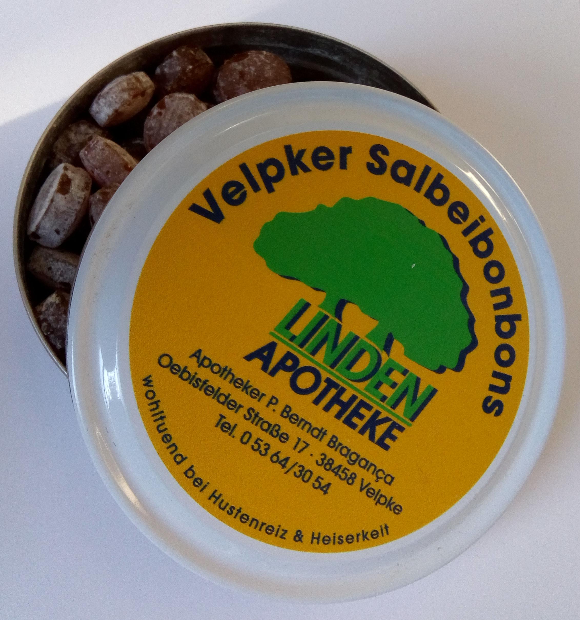 Velpker Husten- und Salbeibonbons